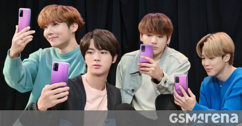 Bts Edition Of Galaxy S20 Teaser Leaks Galaxy Buds Bts Edition Listed On Samsung Uae Gsmarena Com News