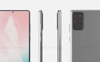 Samsung Galaxy Note20 case leaks, flat screen confirmed