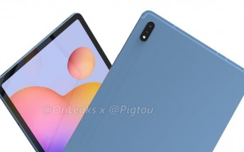 Samsung Galaxy Tab S7 design revealed through leaked images