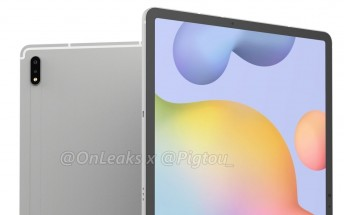 Samsung Galaxy Tab S7+ breaks cover with dual rear cameras
