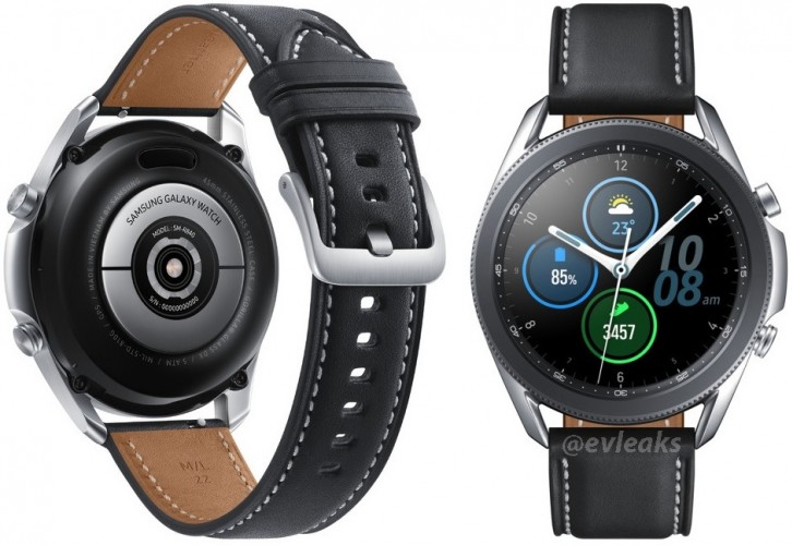 Here's our best look yet at the Samsung Galaxy Watch3