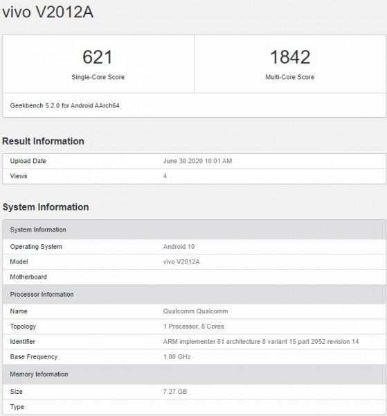iQOO Z1x thông số kỹ thuật đầy đủ và thiết kế được tiết lộ bởi TENAA