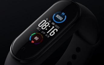 Xiaomi Mi Band 5 debuts with bigger display and magnetic charger