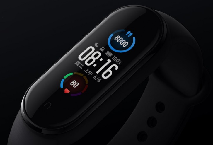 Xiaomi Mi Band 5 debuts with bigger display and magnetic charging dock