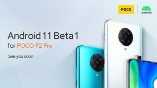 The Xiaomi Mi 10, Mi 10 Pro and the Poco F2 Pro can expect to test Android 11 beta soon