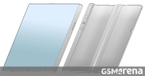 Xiaomi patents folding phone that looks a lot like the Huawei Mate X
