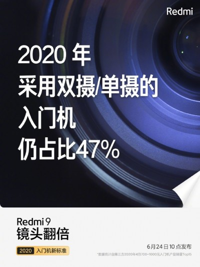 Xiaomi to launch Redmi 9 in China on June 24