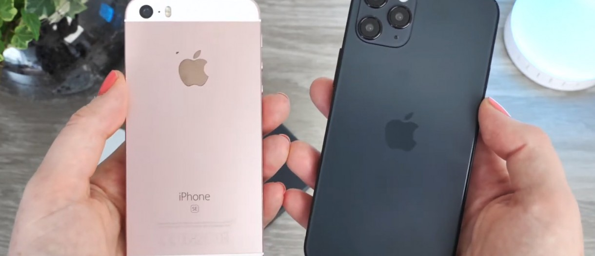 Iphone 12 12 Pro And 12 Pro Max Dummies Shown On Video Compare With Older Iphones Gsmarena Com News