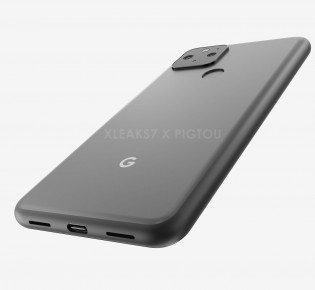 Alleged Google Pixel 5 renders, image source: Pigtou