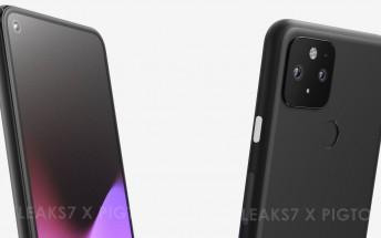 Alleged renders of Google Pixel 5 leak, reminiscent of Pixel 4