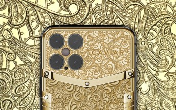 Caviar goldsmiths are ready to craft a $23,380 iPhone 12 Pro covered with engraved gold