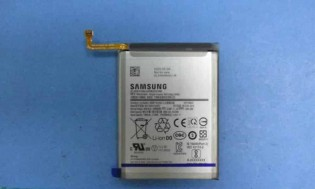 A shot of the actual battery and part of the listing