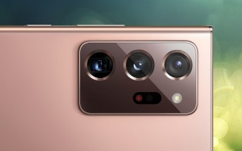 Galaxy Note20 Ultra may lose the 48 MP sensor in the zoom cam, 108 MP gets no upgrades