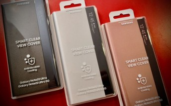 Samsung Galaxy Note20 Ultra 5G to get antimicrobial flip cover