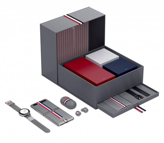 If you're not familiar with Thom Browne's work, here's the Z Flip limited edition from last year