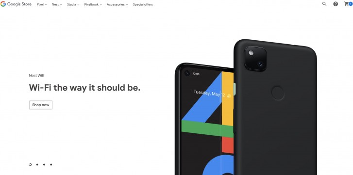 Google accidentally shows off the Pixel 4a to the world