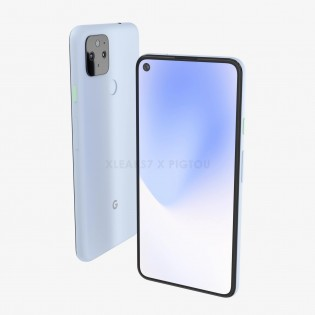 Alleged Google Pixel 5 XL renders