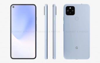 Alleged Google Pixel 5 XL renders surface with a punch hole display and dual camera setup