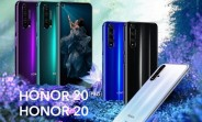 European Honor 20 and Honor 20 Pro are now receiving Magic UI 3.1 update based on Android 10