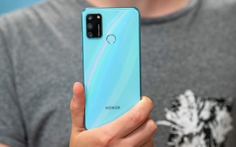 Honor 9A in for review
