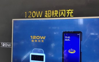 iQOO shows off its 120W fast charger that can fill a 4,000 mAh battery in 15 minutes