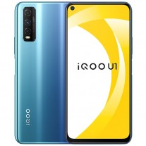 iQOO U1 in Blue color
