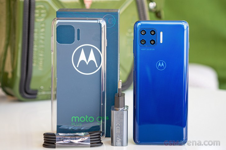 Motorola Moto G 5G Plus in for review