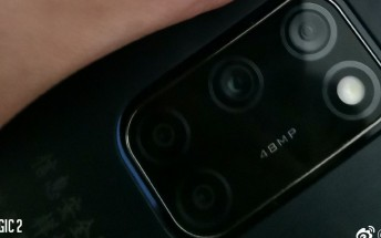 A mystery Huawei phone pictured
