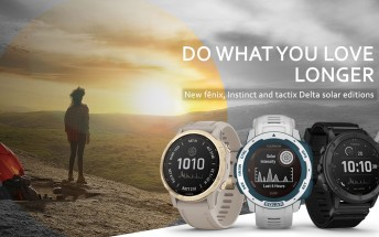 Garmin updates Fenix 6, Instinct and Tactix Delta smartwatches with solar charging