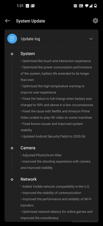 OnePlus 8 Pro June update arrives to the US with battery improvements, limits Photochrom camera