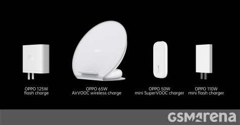 Oppo officially announces 125W flash charge, 65W AirVOOC wireless flash charge