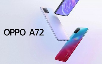 Oppo A72 5G goes official with Dimensity 720 SoC and 6.5