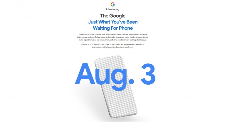 Google Pixel 4a Price and Availability (cheaper than expected)