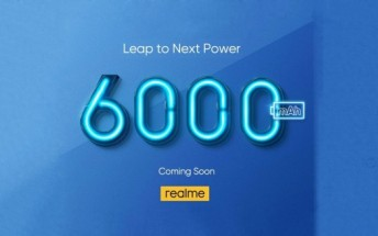 Realme phone with 6,000 mAh battery coming soon