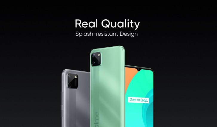 Realme C11 comes to India alongside new 30W Dart Charge Power 10,000mAh Bank