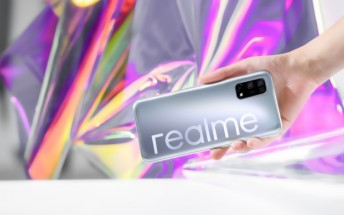 Realme V5 teased with a punch hole display and 48MP quad camera