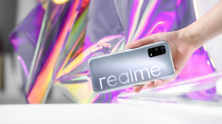 Realme V5 Teased with quad camera and 5G Support