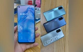 Realme V5 appears in hands-on shots