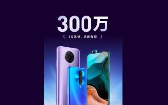 Redmi K30 series passes 3 million sales in China
