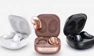 Samsung Galaxy Buds Live TWS earphones images reveal colors, charging case design