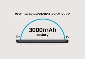3,000 mAh battery