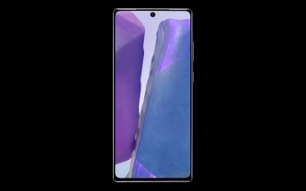 Samsung Galaxy Note20 shown off from multiple angles in new video