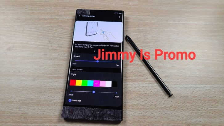 Samsung Galaxy Note20's S Pen stylus to double up as a pointer