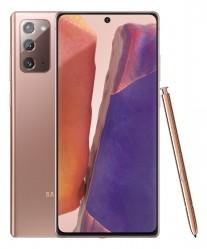 Samsung Galaxy Note20 in Mystic Bronze color