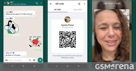 WhatsApp adds animated stickers, QR codes, and dark mode for web