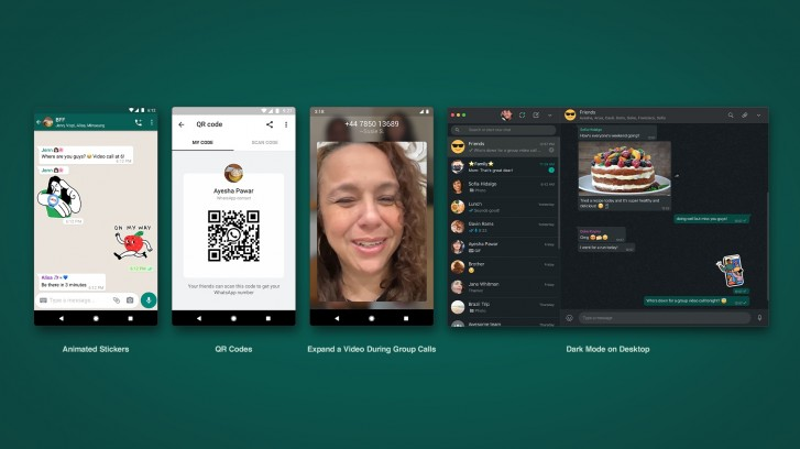 WhatsApp rolling out new features like enhanced group calls, animated stickers