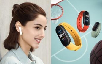 Xiaomi launches Mi Smart Band 5 and Mi TWS Earphones Basic on the global market