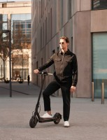 You can ride the Mi Electric Scooter 1S for 25 km then fold it to stash or carry it