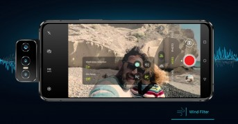Zenfone 7 audio features powered by Nokia OZO: Wind Filter