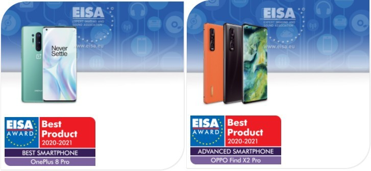 Best New Cell Phones 2021 OnePlus, Oppo, Huawei, Samsung and Sony phones all win EISA 2020